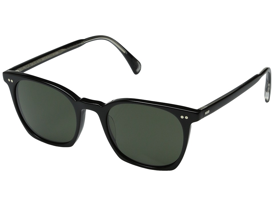 Oliver Peoples L.A. Coen Sun Black/Grey Mineral Glass Fashion Sunglasses
