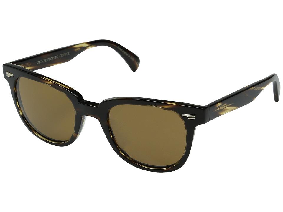 Oliver Peoples Masek Cocobolo/Cosmik Tone Fashion Sunglasses