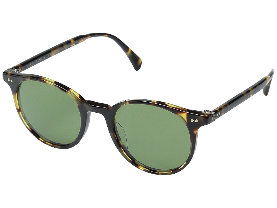 Oliver Peoples Delray Sun VDTB/Green C Fashion Sunglasses