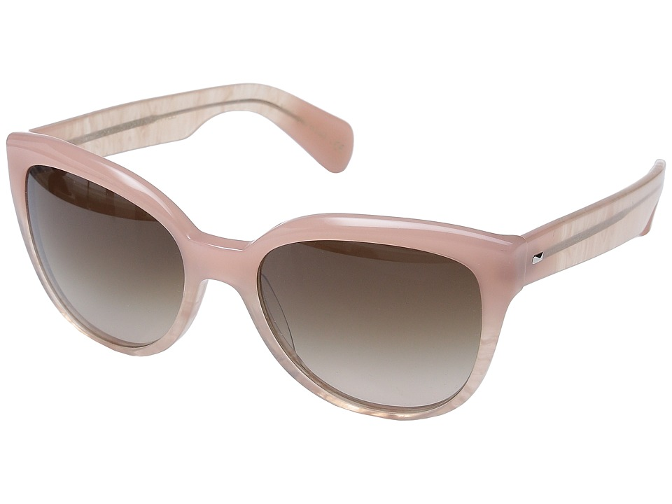 Oliver Peoples Abrie Pink Topaz/Umber Gradient Fashion Sunglasses