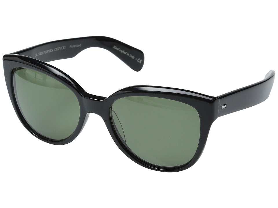 Oliver Peoples Abrie Black/G15 Polarized Fashion Sunglasses