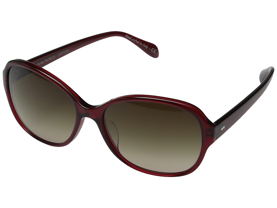 Oliver Peoples Brigid Ruby/Umber Gradient Fashion Sunglasses