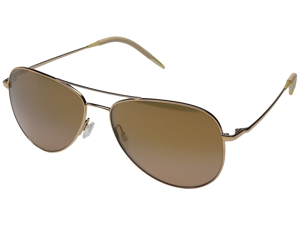 Oliver Peoples Kannon Rose Gold/Rose Quartz Mirror Fashion Sunglasses