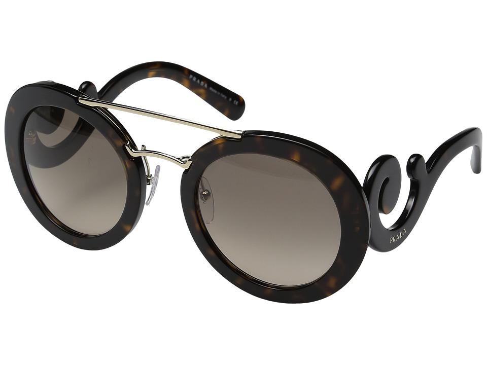 Prada 0PR 13SS (Havana/Grey Gradient) Fashion Sunglasses