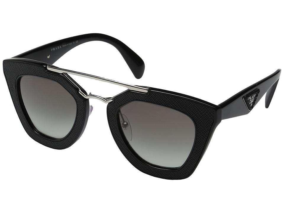 Prada 0PR 14SS (Black/Grey Gradient) Fashion Sunglasses