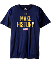 Under Armour Kids - USA Make History Short Sleeve Tee (Big Kids)