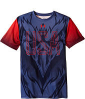 Under Armour Kids - Eagle Pride Short Sleeve Tee (Big Kids)