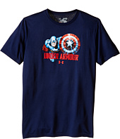 Under Armour Kids - Captain America Short Sleeve Tee (Big Kids)