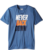 Under Armour Kids - Never Back Down Short Sleeve Tee (Big Kids)
