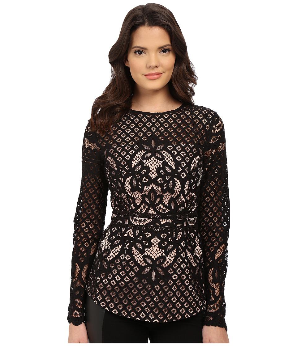 StyleStalker - Lani Top Noir Womens Blouse $159.00 AT vintagedancer.com