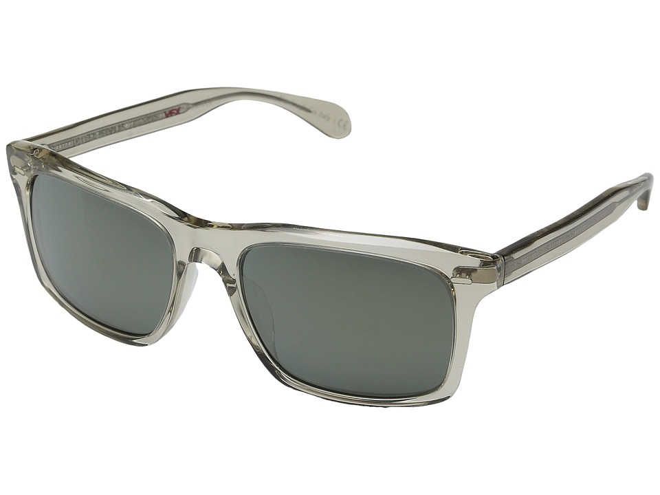 Oliver Peoples Brodsky Shroom/G15 Gold Tone Polarized Fashion Sunglasses