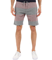 VISSLA - Sofa Surfer Stripe Fleece Shorts 20