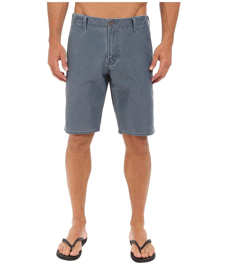 VISSLA Boneyard Hybrid Walkshorts 20 Dark Slate Mens Shorts