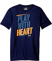 Under Armour Kids - Play with Heart Short Sleeve Tee (Big Kids)