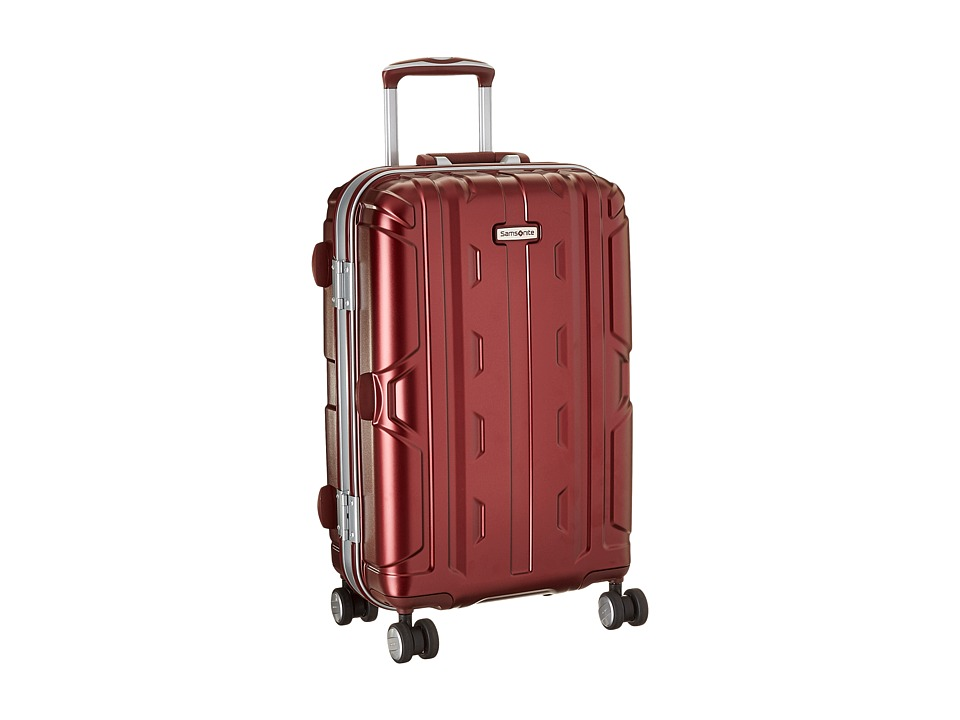 Samsonite Cruisair DLX 21 Spinner (Burgundy) Luggage