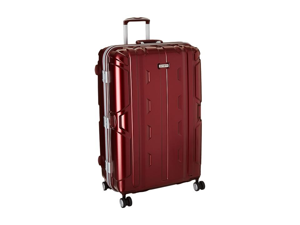 Samsonite Cruisair DLX 30 Spinner Burgundy Luggage