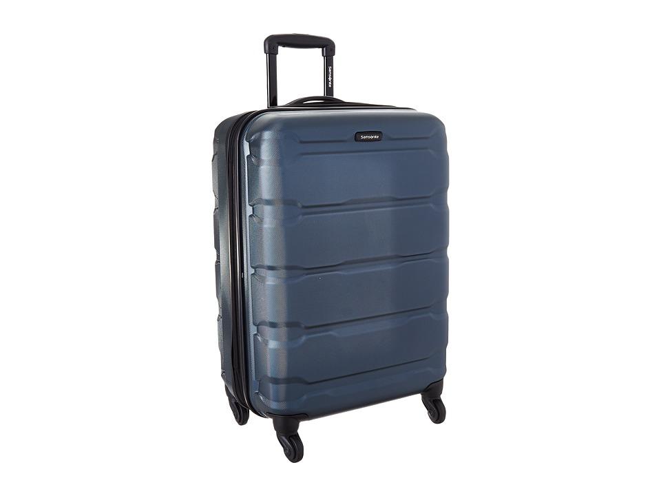 Samsonite Omni PC 24 Spinner (Teal) Luggage