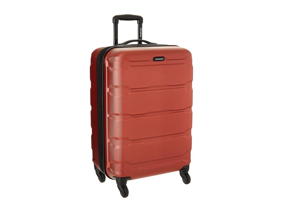 Samsonite Omni PC 24 Spinner Burnt Orange Luggage