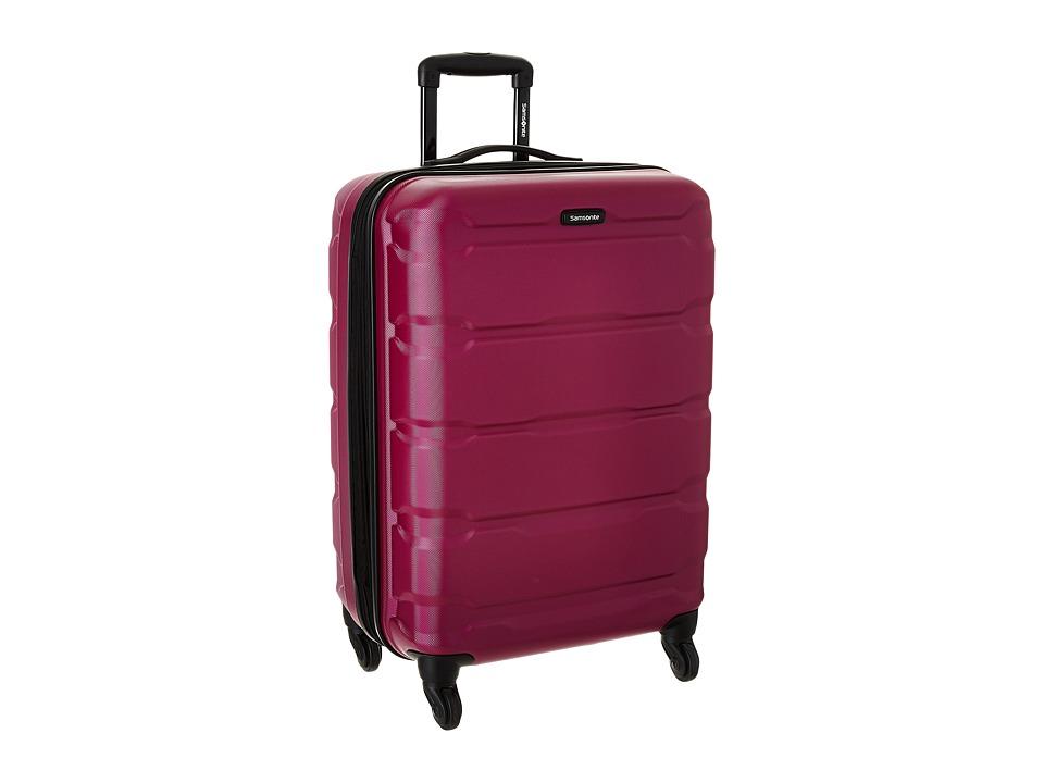 Samsonite Omni PC 24 Spinner (Radiant Pink) Luggage