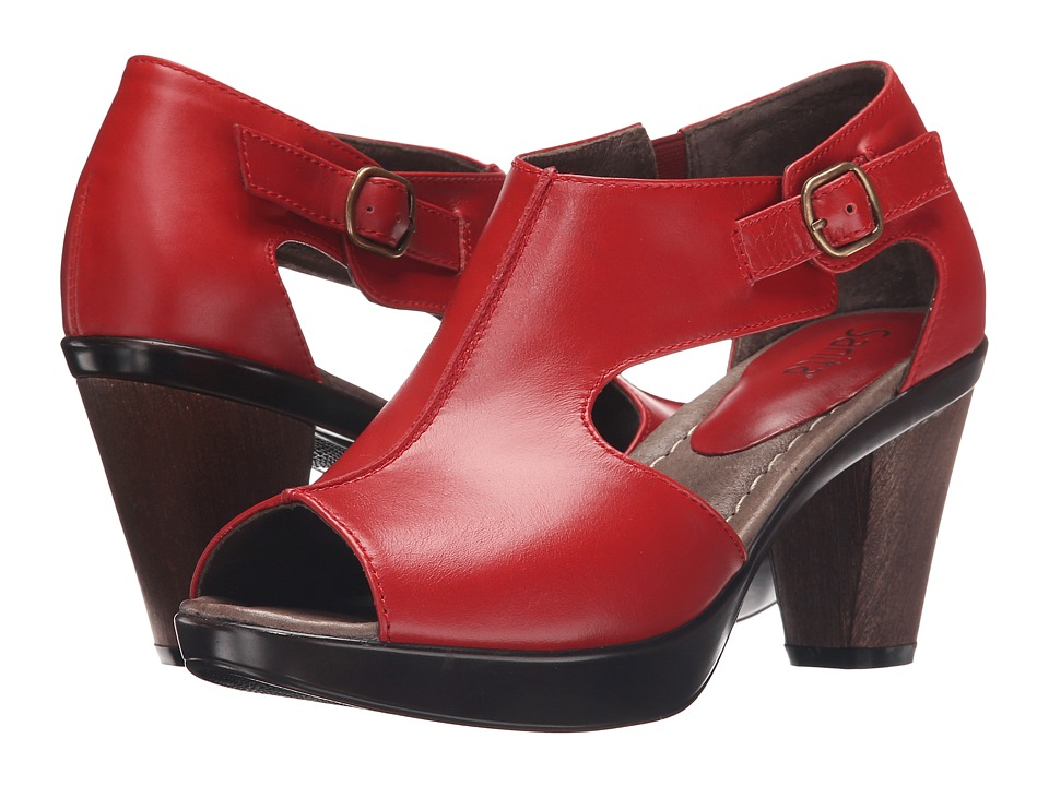 Sanita Begonia Red Womens Shoes