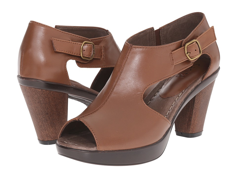 Sanita Begonia Brown Womens Shoes