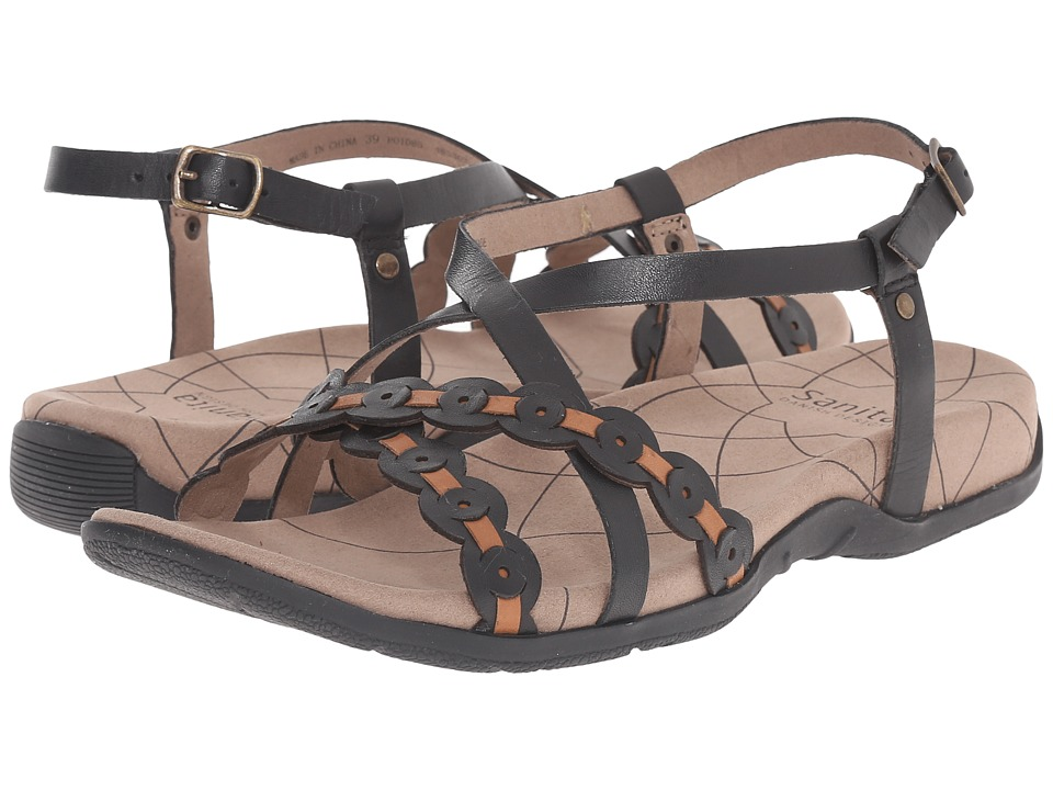 Sanita Carlie (Black/Tan) Women