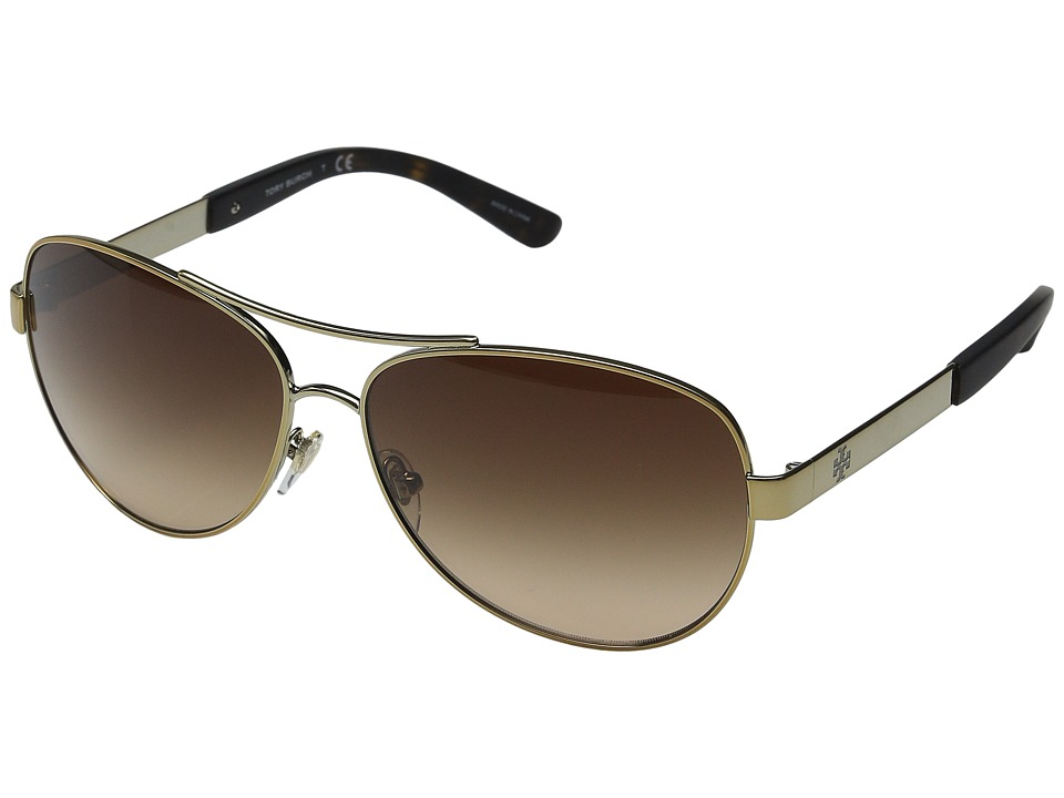 Tory Burch - 0TY6047 (Gold/Brown Gradient) Fashion Sunglasses