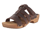Sanita - Fatu Round Flex Sandal (Antique Brown)