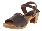 Sanita - Fryd Square Flex Sandal (Antique Brown)
