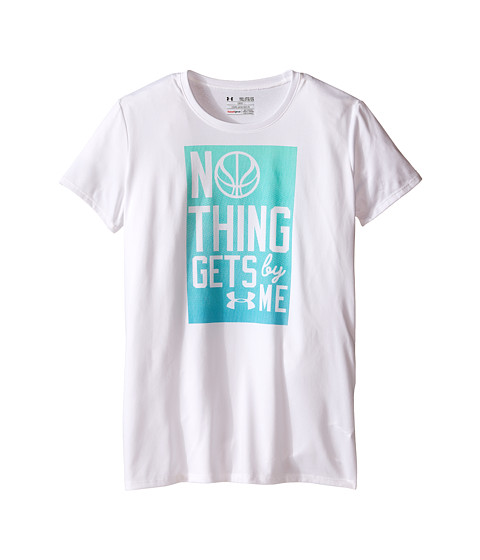Under Armour Kids Nothing Gets by Me Short Sleeve Tee (Big Kids)