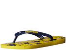 Havaianas - Minions Flip Flops (Yellow/Navy Blue)