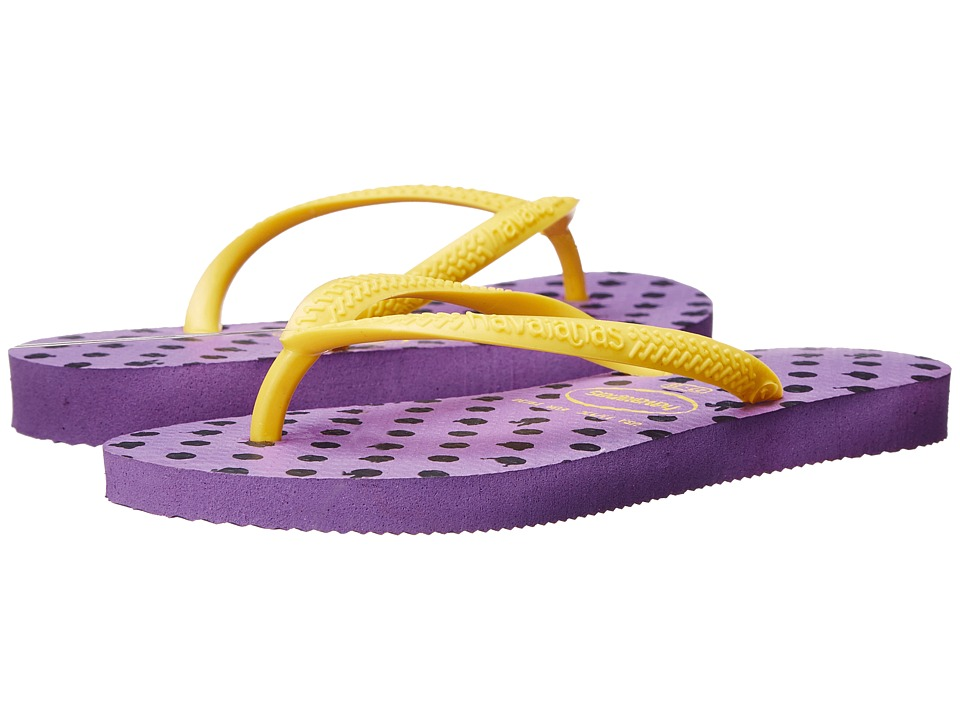 Havaianas Kids Slim Fresh Toddler/Little Kid/Big Kid Dark Purple Girls Shoes