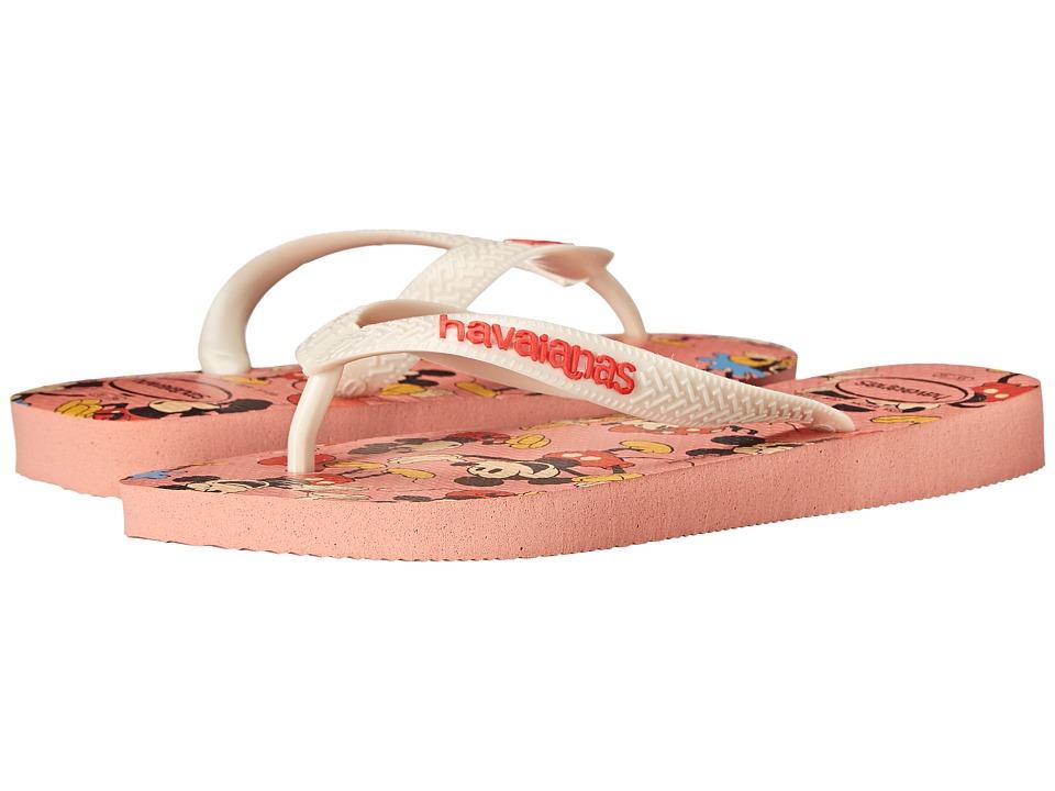 Havaianas Disney Stylish Flip Flops Light Pink Womens Sandals
