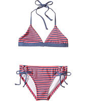 Splendid Littles - Malibu Stripe Reversible Triangle Bra & Tunnel Pants (Big Kids)