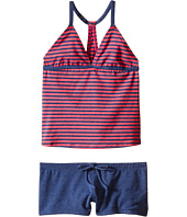 Splendid Littles - Malibu Stripe Tankini & Boyshorts (Big Kids)