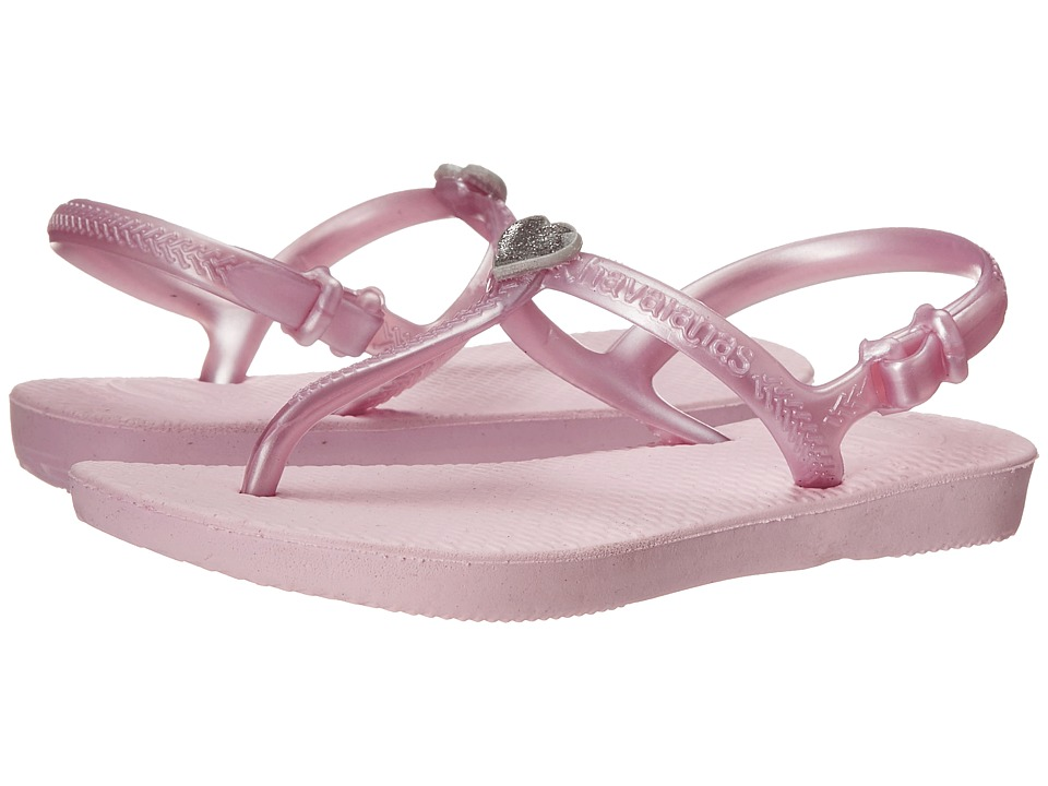 Havaianas Kids Freedom Toddler/Little Kid/Big Kid Crystal Rose Girls Shoes