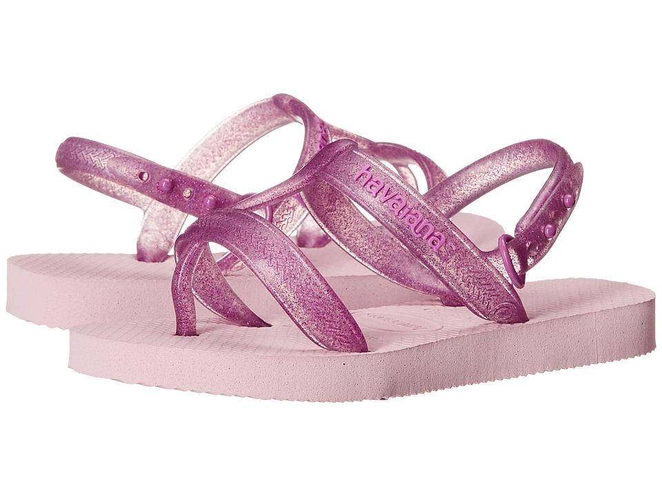 Havaianas Kids Joy Toddler/Little Kid/Big Kid Crystal Rose Girls Shoes