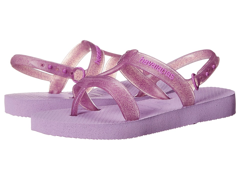 Havaianas Kids Joy Toddler/Little Kid/Big Kid Soft Lilac Girls Shoes