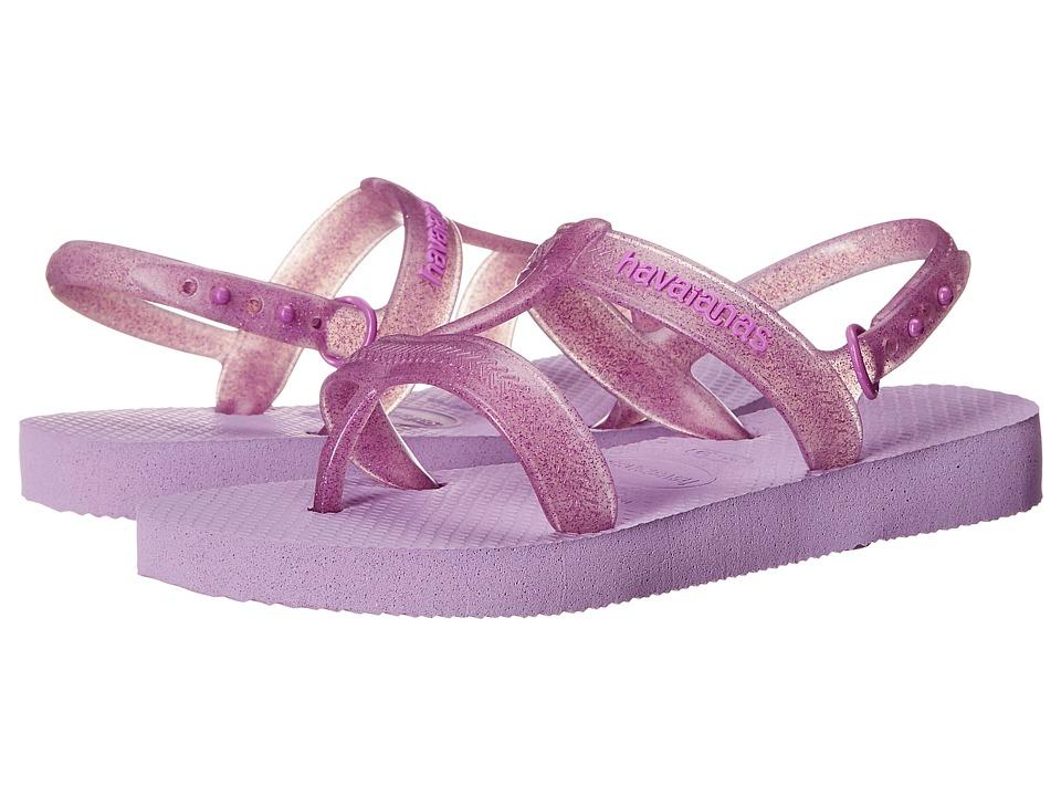 Havaianas Kids Joy Toddler/Little Kid/Big Kid Soft Lilac Girls Shoes