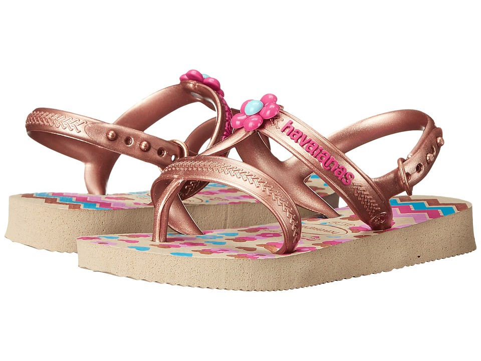 Havaianas Kids Joy Spring Toddler/Little Kid/Big Kid Sand Grey Girls Shoes