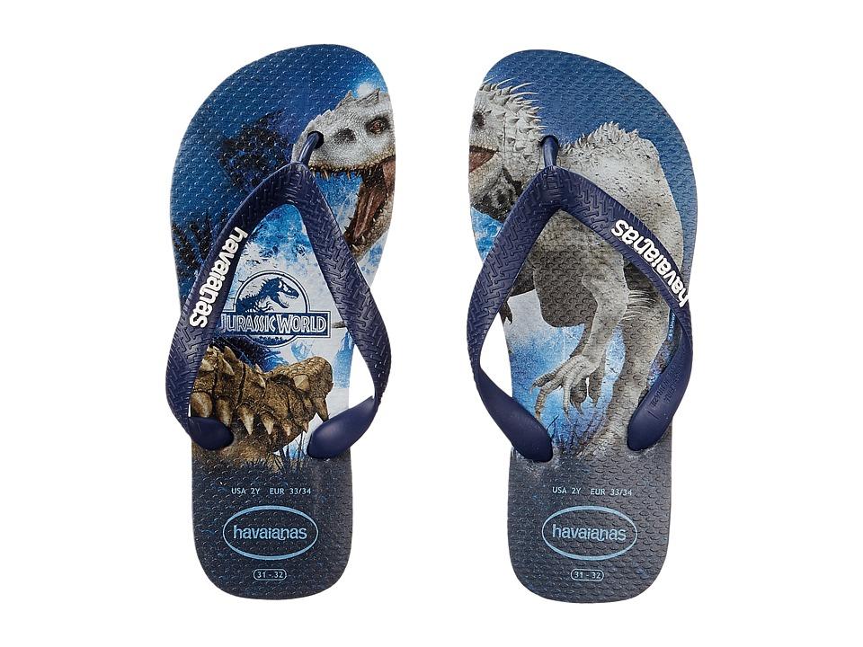 Havaianas Kids Jurassic World Toddler/Little Kid/Big Kid Indigo Blue Boys Shoes