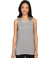 Zobha - Tank Top w/ Back Trim Detail and Double Neckline