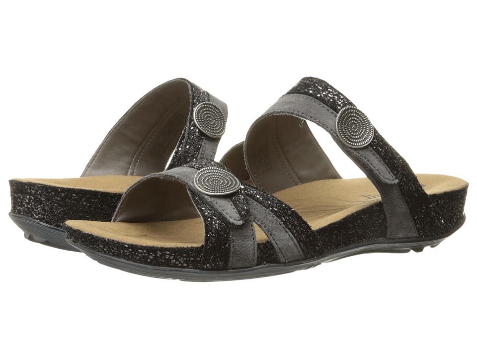 Romika Fidschi 22 Grey/Black Womens Sandals