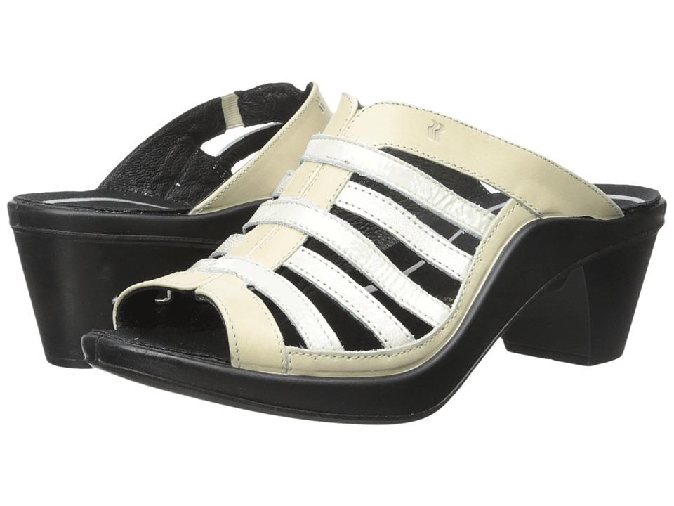 Romika Mokassetta 285 Off White Womens Clog/Mule Shoes
