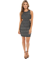 Brigitte Bailey - Susannah Sleeveless Sparkle Dress w/ Side Cutout