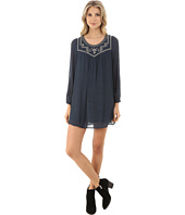 Brigitte Bailey - Leilani Embroidered Long Sleeve Dress