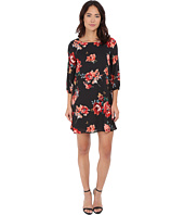 Brigitte Bailey - Bernadette 3/4 Sleeve Floral Shift Dress