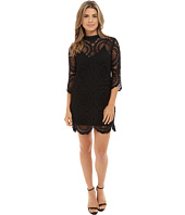 Brigitte Bailey - Imogen 3/4 Sleeve Lace Dress w/ Slip