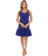 Brigitte Bailey - Theodora Sleeveless Drop Waist Dress w/ Jewels