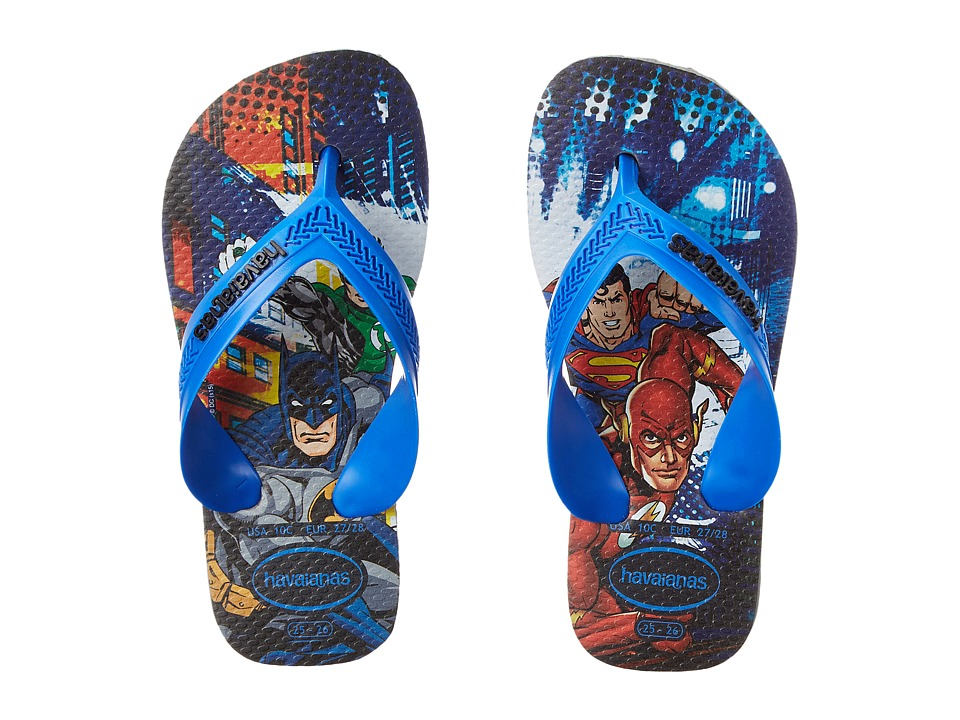 Havaianas Kids Max Heroes Toddler/Little Kid/Big Kid Grey/Grey Boys Shoes